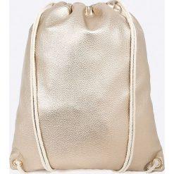 Answear - Plecak. Szare plecaki damskie ANSWEAR, ze skóry ekologicznej. W wyprzedaży za 49,90 zł.