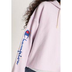 Champion Reverse Weave HOODED Bluza z kapturem purple. Fioletowe bluzy z kapturem damskie Champion Reverse Weave, xs, z bawełny. Za 439,00 zł.