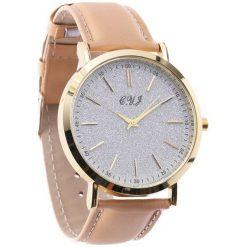 Beżowy Zegarek You Have Lost. Brązowe zegarki damskie Born2be. Za 29,99 zł.