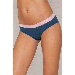Calvin Klein Bikini One Cotton - Blue. Niebieskie bikini Calvin Klein. Za 92,95 zł.