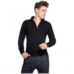 William De Faye Sweter Męski Xxl Czarny. Czarne swetry klasyczne męskie marki bonprix, m, z aplikacjami, z polaru. Za 259,00 zł.