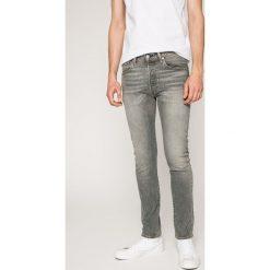 Levi's - Jeansy. Szare jeansy męskie marki Levi's®. W wyprzedaży za 249,90 zł.