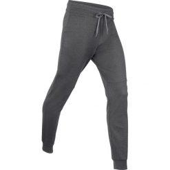 Spodnie dresowe damskie: Spodnie dresowe termoaktywne funkcyjne, długie bonprix szary melanż