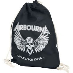 Torebki klasyczne damskie: Airbourne Rock 'N Roll For Life Torba treningowa czarny