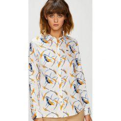 U.S. Polo - Koszula. Szare koszule wiązane damskie U.S. Polo, s, z bawełny, casualowe, polo, z długim rękawem. W wyprzedaży za 279,90 zł.