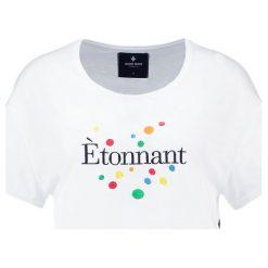 T-shirty damskie: Saint Noir ETONNANT Tshirt z nadrukiem white