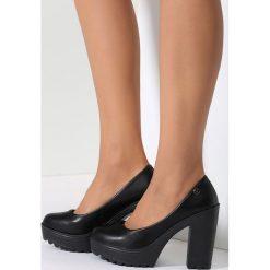 Buty ślubne damskie: Czarne Czółenka Alluring Airness