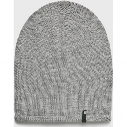 Answear - Czapka Nomad. Szare czapki zimowe damskie marki ANSWEAR, na zimę, z dzianiny. Za 29,90 zł.