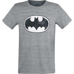 T-shirty męskie z nadrukiem: Batman Logo T-Shirt odcienie szarego
