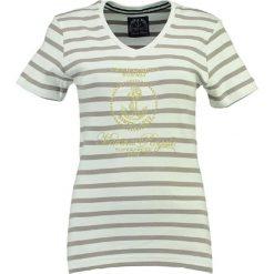 """T-shirty damskie: Koszulka """"Jardin"""" w kolorze biało-szarym"""