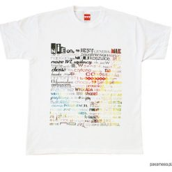 Bluzki asymetryczne: Koszulka NAPISY 777 - WEŹ SIĘ OBRAŹ