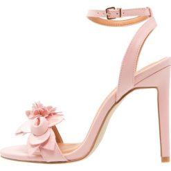 Rzymianki damskie: BEBO BABETTE  Sandały na obcasie pink