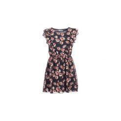 Sukienki krótkie Molly Bracken  BLAVA. Czarne sukienki hiszpanki Molly Bracken, l, z krótkim rękawem, mini. Za 191,20 zł.