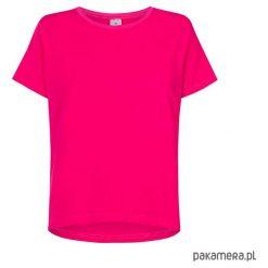 T-shirt basic fuksja. Niebieskie t-shirty damskie marki Pakamera, z bawełny. Za 99,00 zł.