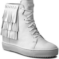 Sneakersy EVA MINGE - Gracia 1M 17SM1372113ES  102. Białe sneakersy damskie Eva Minge, ze skóry. W wyprzedaży za 249,00 zł.
