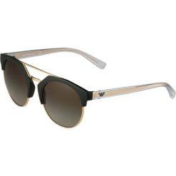 Emporio Armani Okulary przeciwsłoneczne militay green/pale goldcoloured. Szare okulary przeciwsłoneczne damskie lenonki marki Emporio Armani. Za 609,00 zł.