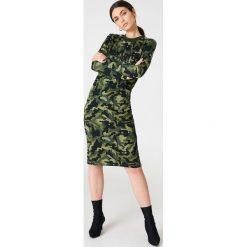 Sukienki: Baum und Pferdgarten Sukienka Janny – Green,Multicolor