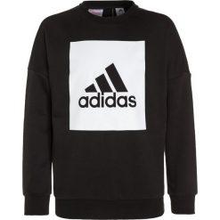 Bluzy męskie: adidas Performance LOGO CREW Bluza black/white