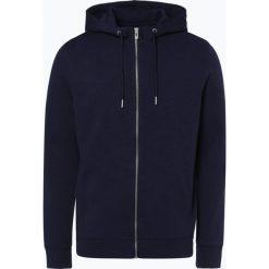 Review - Męska bluza rozpinana, niebieski. Niebieskie bluzy męskie rozpinane marki Review. Za 139,95 zł.