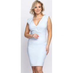 Sukienki: Jasnoniebieska Sukienka Outshine