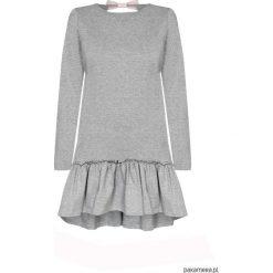 Sukienki dziewczęce z falbanami: sukienka dziewczęca LITTLE ORCHID