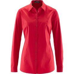 Bluzki damskie: Bluzka z długim rękawem bonprix czerwony