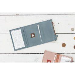 MIKRO PLUS / Blue - portfel ze skóry. Niebieskie portfele męskie Pakamera, ze skóry. Za 130,00 zł.