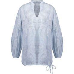 Bluzki asymetryczne: 120% Lino Bluzka light blue fade