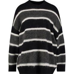 Swetry klasyczne damskie: AllSaints EDI CREW Sweter black/white