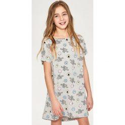 Odzież dziewczęca: Koszula nocna smiley world – Jasny szar