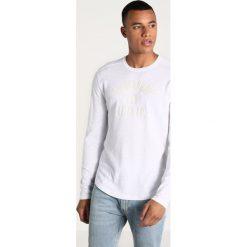 Swetry klasyczne męskie: Abercrombie & Fitch SUMMER IDEA  Sweter white