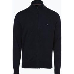 Tommy Hilfiger - Kardigan męski, niebieski. Czarne swetry rozpinane męskie marki TOMMY HILFIGER, l, z dzianiny. Za 379,95 zł.