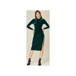 Sukienki hiszpanki: Sukienka Emily zieleń butelkowa