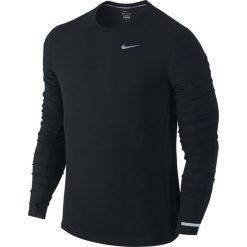 Koszulki do fitnessu męskie: koszulka do biegania męska NIKE DRI-FIT CONTOUR LONGSLEEVE / 683521-010 – NIKE DRI-FIT CONTOUR LONGSLEEVE