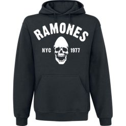 Ramones Pinhead Skull Bats Bluza z kapturem czarny. Czarne bejsbolówki męskie Ramones, s, z kapturem. Za 134,90 zł.