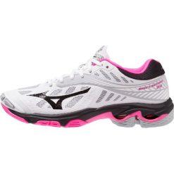 Mizuno WAVE LIGHTNING Z4 Obuwie do siatkówki white/black/pink glo. Różowe buty do fitnessu damskie marki Mizuno. Za 589,00 zł.