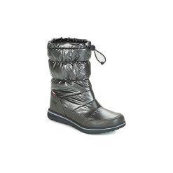 Śniegowce Kangaroos  K WOWI COLL RTX. Czarne buty zimowe damskie KangaROOS. Za 219,00 zł.