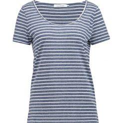 T-shirty damskie: Samsøe & Samsøe NOBEL TEE STRIPE Tshirt z nadrukiem white/blue