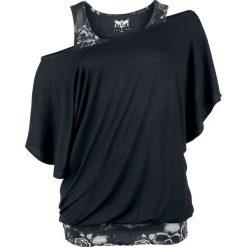 Black Premium by EMP When The Heart Rules The Mind Koszulka damska czarny/szary. Czarne bluzki z odkrytymi ramionami marki Black Premium by EMP, xl, z poliesteru. Za 121,90 zł.