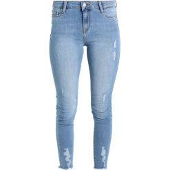 Even&Odd Jeans Skinny Fit mid blue denim. Niebieskie rurki damskie Even&Odd. Za 129,00 zł.