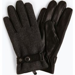 James - Rękawiczki męskie ze skóry, czarny. Czarne rękawiczki męskie James, ze skóry. Za 199,95 zł.