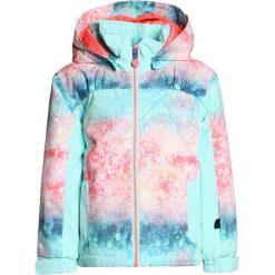 Roxy MINI JETTY Kurtka snowboardowa neon grapefruit/solargradient. Niebieskie kurtki dziewczęce sportowe Roxy, z materiału, narciarskie. W wyprzedaży za 367,20 zł.