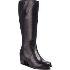 Kozaki CAPRICE - 9-25519-21 Ocean Nappa 855. Niebieskie buty zimowe damskie Caprice, z materiału. Za 519,90 zł.