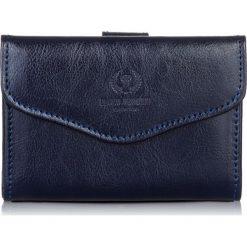 PORTFEL DAMSKI PAOLO PERUZZI. Niebieskie portfele damskie Paolo Peruzzi, ze skóry. Za 99,00 zł.