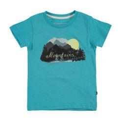 """T-shirty chłopięce: Koszulka """"Anano"""" w kolorze niebieskim"""