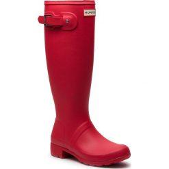Kalosze HUNTER - Original Tour WFT1026RMA Flare. Czerwone buty zimowe damskie Hunter, z kauczuku. Za 549,00 zł.