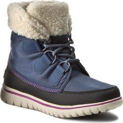 Buty zimowe damskie: Śniegowce SOREL – Cozy Carnival NL2297-478 Dark Mountain/Black