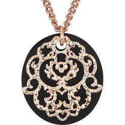 Biżuteria i zegarki: Pozłacany naszyjnik z zawieszką – dł. 61 cm
