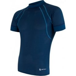 Sensor Męska Koszulka Coolmax Air Blue  L. Niebieskie koszulki do fitnessu męskie Sensor, m. Za 125,00 zł.