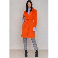 2NDDAY Płaszcz Livia - Orange. Pomarańczowe płaszcze damskie pastelowe 2NDDAY, w paski, z materiału. W wyprzedaży za 340,19 zł.